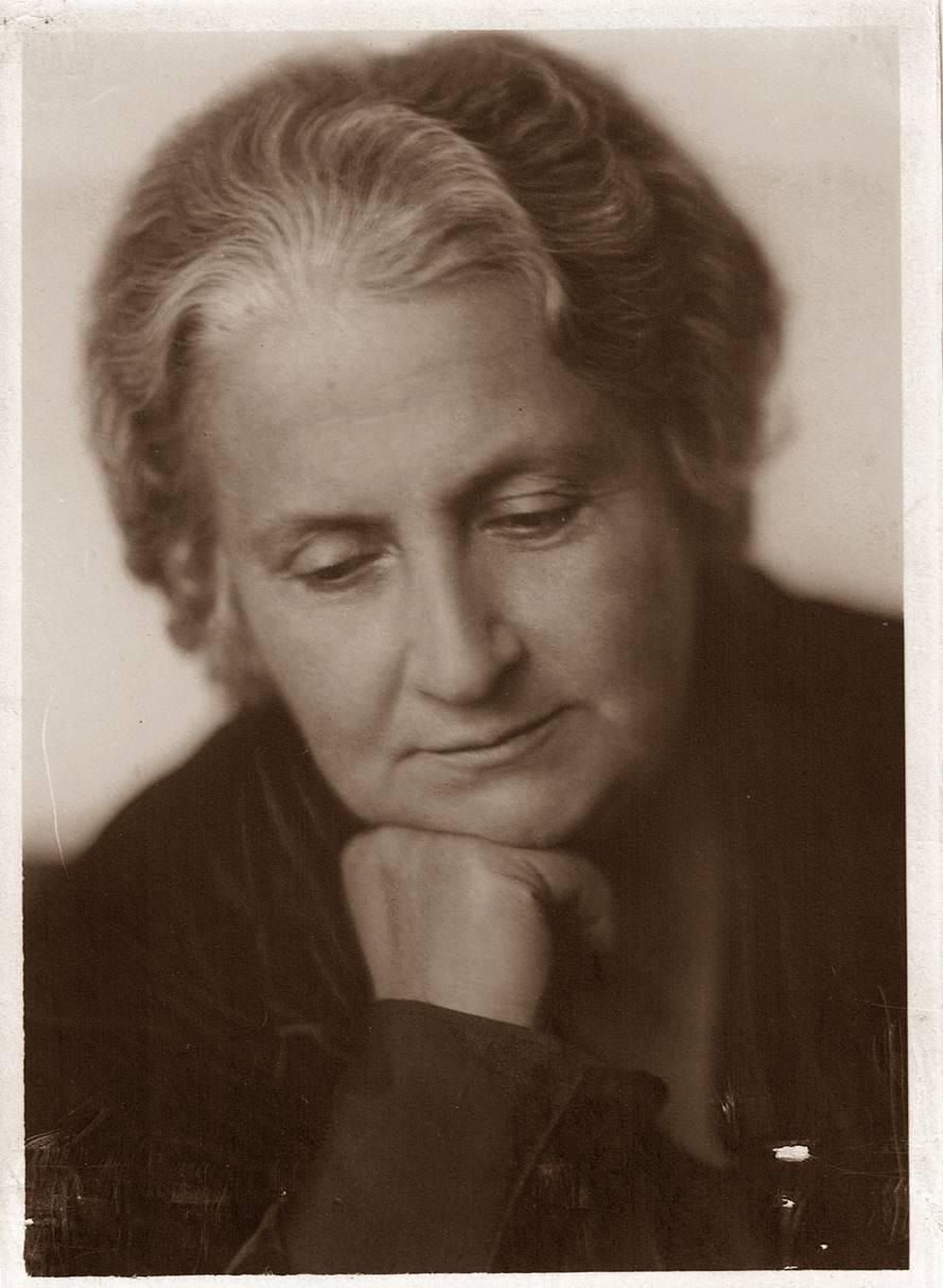 マリア・モンテッソーリの履歴に掲載する本人写真